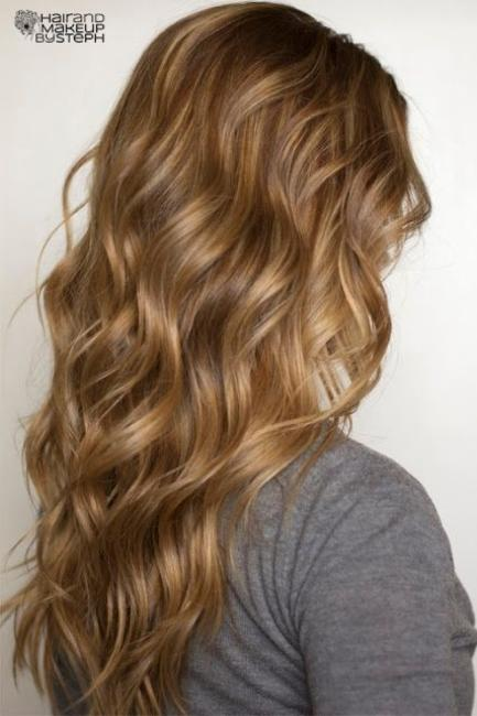 Soft Flat Iron Curls